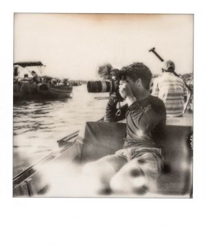 SX70 - Can Tho - Guillaume and the floating market