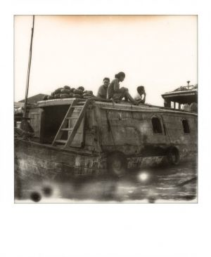 SX70 - Can Tho - Floating market sellers