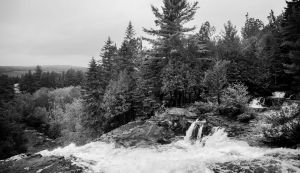 La Tuque Waterfall